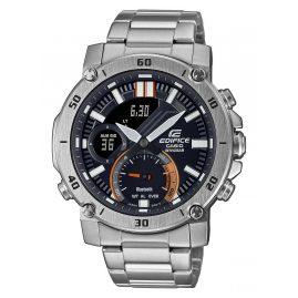 Casio ECB-20D-1AEF Edifice Herrenuhr Chronograph Stahl/Schwarz
