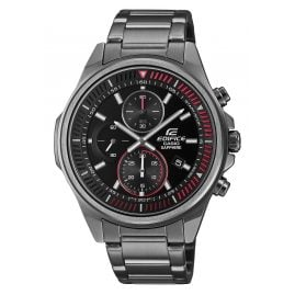 Casio EFR-S572DC-1AVUEF Edifice Herrenuhr Chronograph Grau/Rot