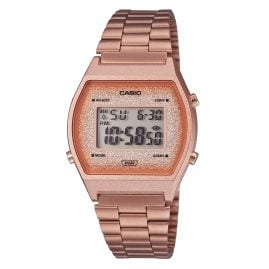 Casio B640WCG-5EF Vintage Edgy Digital Watch Rose