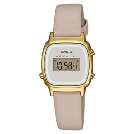 Casio LA670WEFL-9EF Vintage Mini Women's Digital Watch Beige/Gold