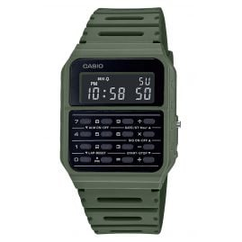 Casio CA-53WF-3BEF Vintage Edgy Men´s Watch with Calculator Green