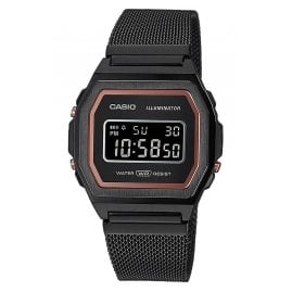 Casio A1000MB-1BEF Vintage Iconic Digital Damenuhr Schwarz