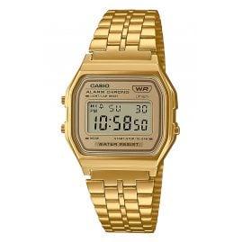 Casio A158WETG-9AEF Vintage Digital Watch Gold Tone