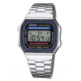 Casio A168WA-1YES Digital Watch Vintage Silver-Tone