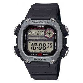 Casio DW-291H-1AVEF Collection Herren-Digitaluhr Schwarz