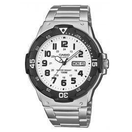 Casio MRW-200HD-7BVEF Collection Herrenuhr Silber/Weiß