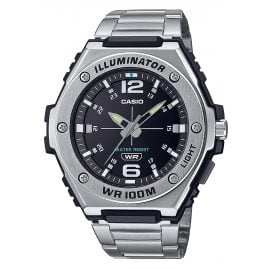Casio MWA-100HD-1AVEF Collection Herrenuhr Silber/Schwarz