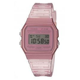 Casio F-91WS-4EF Collection Damen- und Jugenduhr Rosa