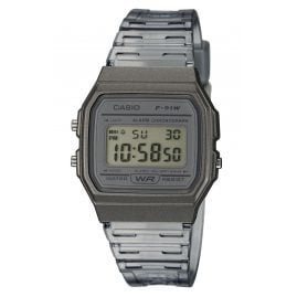Casio F-91WS-8EF Collection Women's and Youth Wristwatch Grey