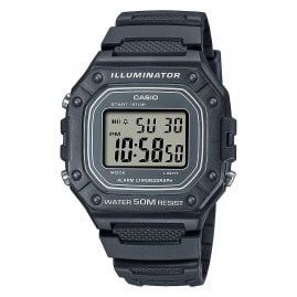 Casio W-218H-8AVEF Collection Herren-Digitaluhr Dunkelgrau