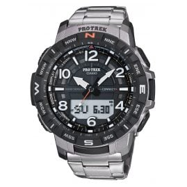Casio PRT-B50T-7ER Pro Trek Bluetooth Men's Watch with Titanium Bracelet