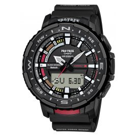 Casio PRT-B70-1ER Pro Trek Bluetooth Men's Watch Black/Red
