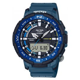 Casio PRT-B70-2ER Pro Trek Bluetooth Herrenuhr Blau