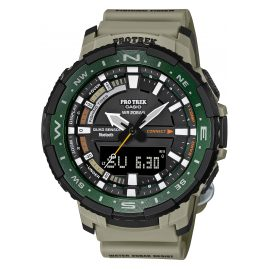 Casio PRT-B70-5ER Pro Trek Bluetooth Herrenuhr Khaki