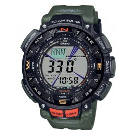 Casio PRG-240-3ER Pro Trek Outdoor Herren-Armbanduhr Schwarz/Grün