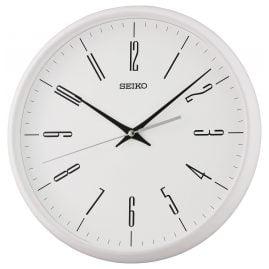 Seiko QXA786W Wanduhr mit Leisegang Weiß