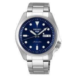 Seiko 5 Sports SRPE53K1 Herren-Armbanduhr Automatik Blau