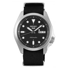 Seiko 5 Sports SRPE67K1 Men's Watch Automatic with Black Nato Strap