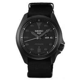 Seiko 5 Sports SRPE69K1 Herren-Armbanduhr Automatik mit Natoband Schwarz