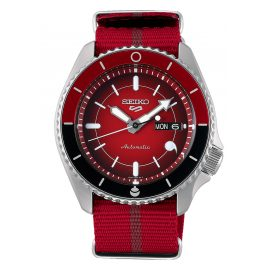 Seiko 5 Sports SRPF67K1 Automatic Men's Wristwatch Sarada Uchiha