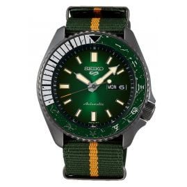 Seiko 5 Sports SRPF73K1 Automatic Men's Wristwatch Rock Lee