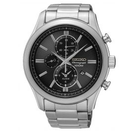 Seiko SNAF67P1 Mens Watch Alarm Chronograph