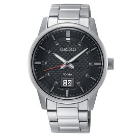 Seiko SUR269P1 Men's Wristwatch with Big Date