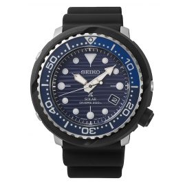 Seiko SNE518P1 Prospex Tuna Solar Men's Diver Watch Save the Ocean