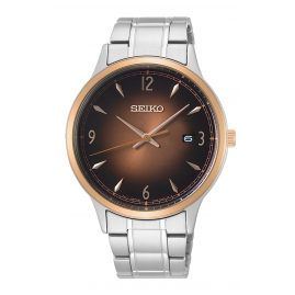 Seiko SGEH90P1 Quarz-Herrenuhr 10 bar Wasserdicht