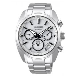Seiko SSH047J1 Astron GPS Solar Men's Wristwatch Dual Time