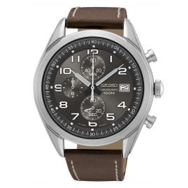 Seiko SSB275P1 Chronograph Men's Watch Brown / Anthracite