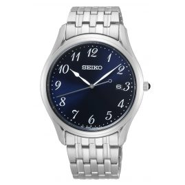 Seiko SUR301P1 Men's Watch with Sapphire Crystal Blue