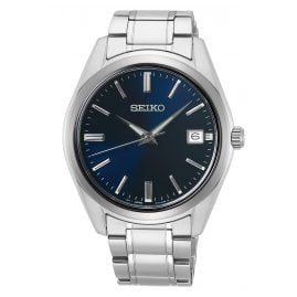 Seiko SUR309P1 Men's Wristwatch with Sapphire Crystal blue