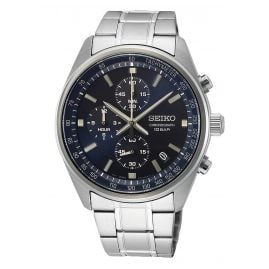 Seiko SSB377P1 Chronograph Men's Watch with Stainless Steel Bracelet
