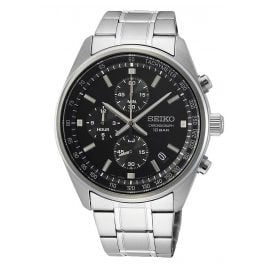 Seiko SSB379P1 Chronograph Men's Watch Black