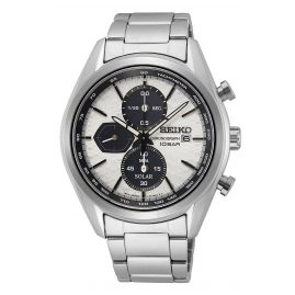 Seiko SSC769P1 Men's Watch Chronograph Solar silver-coloured
