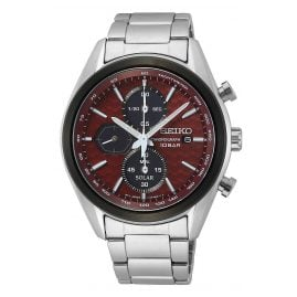 Seiko SSC771P1 Men's Chronograph Solar Red