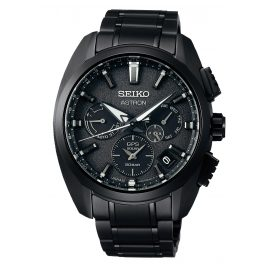 Seiko SSH069J1 Astron Titan GPS Solar Men's Watch Dual Time
