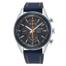 Seiko SSC775P1 Men's Solar Chronograph Blue