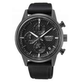 Seiko SSB393P1 Men's Watch Chronograph Titanium Black
