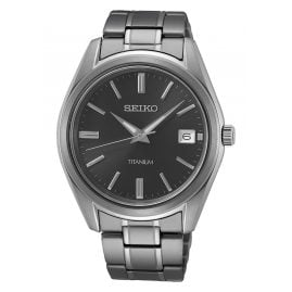Seiko SUR375P1 Men's Watch Titanium Anthracite
