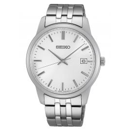 Seiko SUR397P1 Men's Watch Silver Tone
