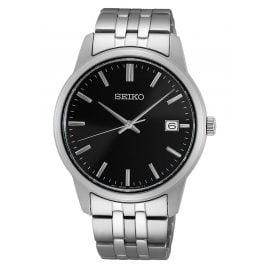Seiko SUR401P1 Men's Wristwatch Black
