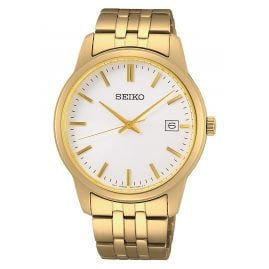 Seiko SUR404P1 Men's Watch Quartz Gold Tone