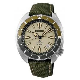 Seiko SRPG13K1 Prospex Land Tortoise Men's Watch Automatic Green