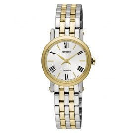Seiko SWR026P1 Premier Ladies Watch Two-Colour
