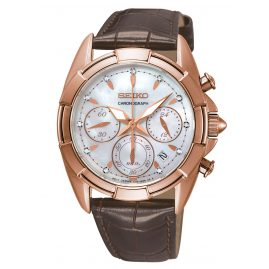 Seiko SRW784P1 Ladies Watch Chronograph