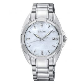 Seiko SKK885P1 Ladies' Wristwatch with 7 Diamonds