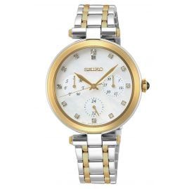 Seiko SKY660P1 Ladies' Watch with Multifunction