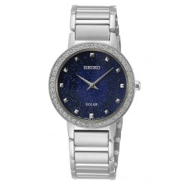 Seiko SUP433P1 Women's Watch Solar with Stainless Steel Bracelet